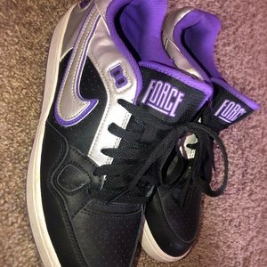 purple low nike air force one